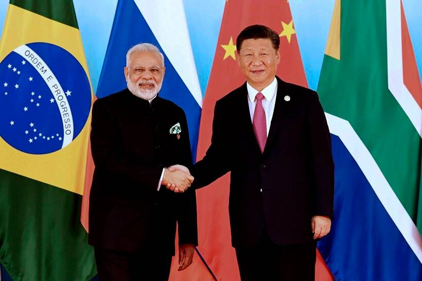 brics summit 2017, brics summit pics, brics summit photos, brics summit images, pm modi, modi pics, modi at brics images, brics 2017 summit, brics summit china, xiamen, xi jinping, india, chinese president, indian express
