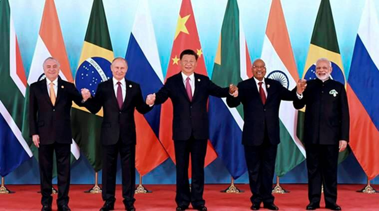 brics summit 2017, brics xiamen, full text brics declaration, brics declaration full report, brics 2017 full declaration, russia, india, china, south africa, brazil, indian express