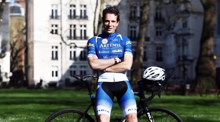 british cyclist guinness records, mark beaumont british cyclist, guinness book cycles around the world, scottish man guinness book cycles around the world, indian express, indian express news