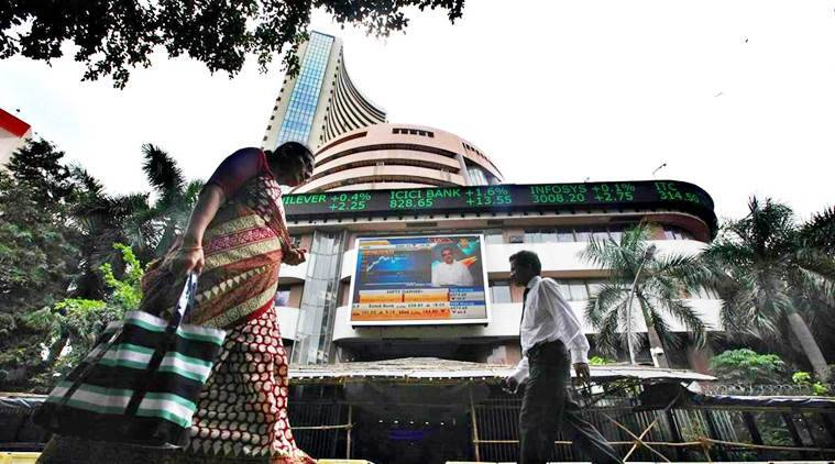 sensex, stock market, sensex today, sensex friday morning trade, nifty, bse, nse, bombay stock exchange, asian markets, indian express