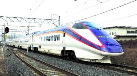 Bullet train, Bullet train project, notices issued, Mumbai project, Mumbai news, indian express news