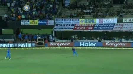 Jasprit Bumrah takes a stunner running back to dismiss Steve Smith; watch video