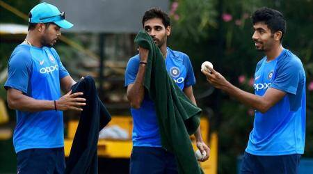 Jasprit Bumrah turns left-arm spinner during India practice; watch video