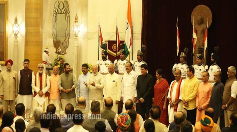 cabinet reshuffle, narendra modi cabinet reshuffle, cabinet rejig, narendra modi, union council of ministers,piyush goyal, nirmala sitharaman, dharmendra pradhan, bjp cabinet reshuffle, reshuffle 2017, indian express