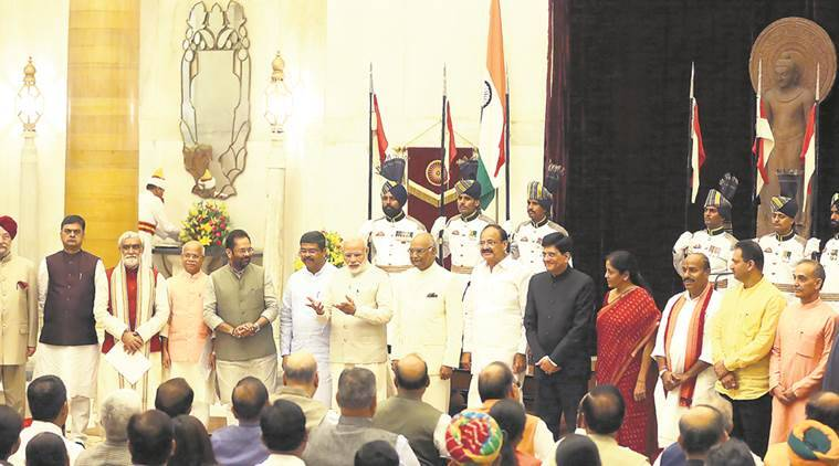 cabinet reshuffle, unuion cabinet reshuffle, cabinet reshuffle ministers, union ministers, nda cabinet, nda cabinet reshuffle, jdu ministers, india news