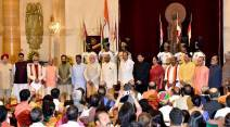 Cabinet reshuffle, New Cabinet, Narendra Modi, Modi Cabinet, Swearing in, Ministers of State, Ram Nath Kovind, India news, Indian Express