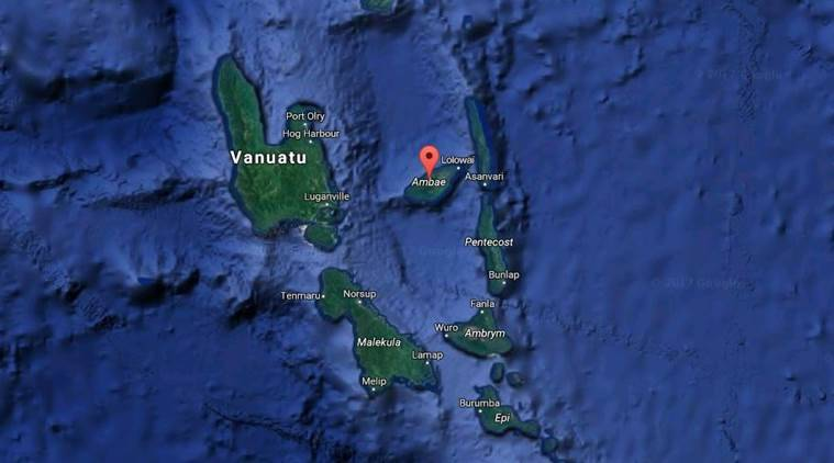 Thousands Evacuated To Emergency Shelters As Vanuatu Volcano - Where is vanuatu