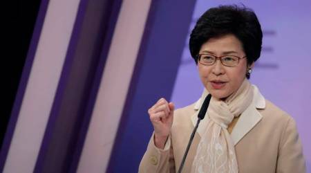 Hong Kong leader Carrie Lam condemns UK criticism over jailedactivists