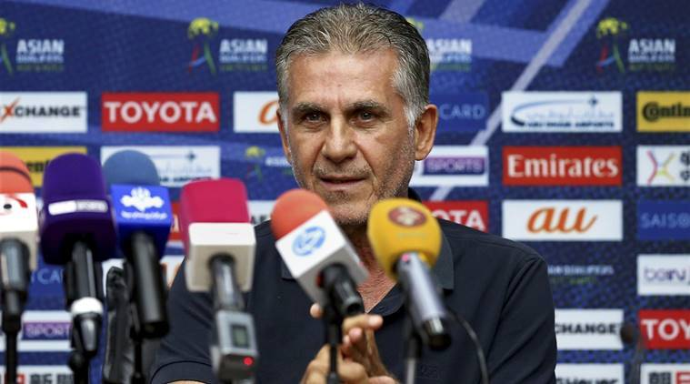 Iran, Carlos Queiroz, 2018 FIFA World Cup, Iran football Federation