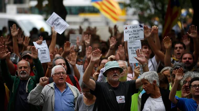 Catalonia referendum, Spain on Catalonia referendum, Franco dictatorship, Spain interior minister on Catalonia referendum,  1936-39 Spanish Civil War, world news, indian express news
