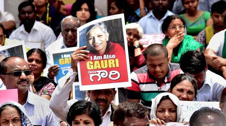 Candlelight vigil, protest meet to condemn scribes killing