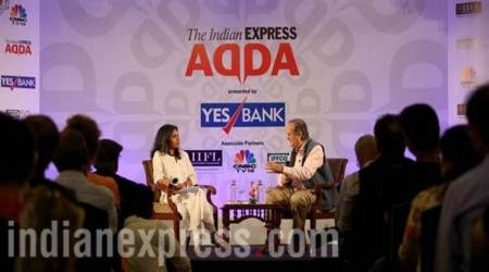 Sir Mark Tully at Express Adda: In Pictures