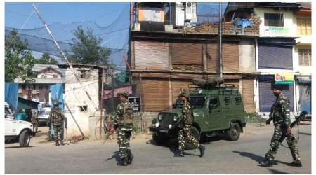 Militants hurl grenade at CRPF camp in Sopore, five injured