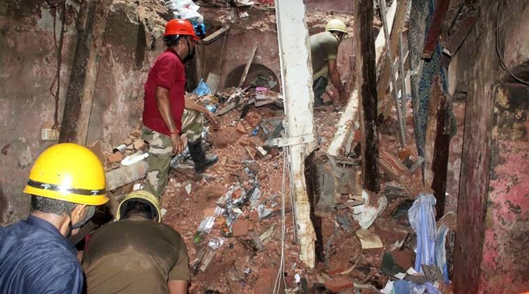 building collapse, accident, Kolkata accident, Kolkata building collapse, India news, Indian Express