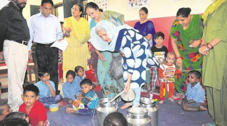 Child rights panel inspection finds lapses at anganwadi centre in Chandigarh