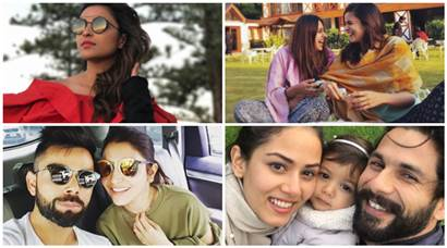 Bollywood stars' vacation photos