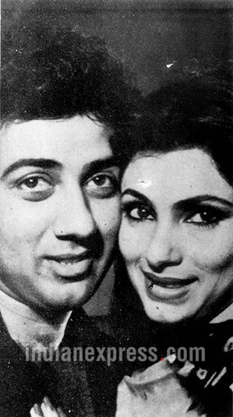 Sunny Deol and Dimple Kapadia's rare pictures