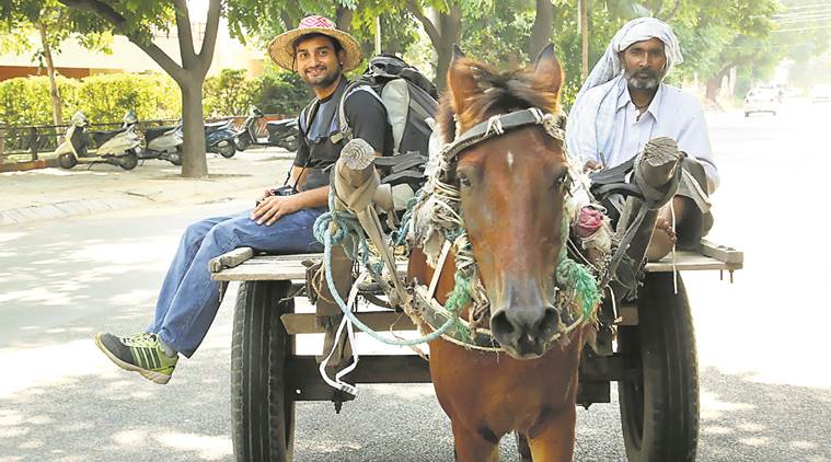 hitchhiking, free travelling, travelling expeditions, Allahabad man free travelling, indian express news