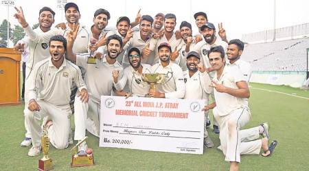 Chandigarh news, Chandigarh sports news, Karanveer Singh, 23rd All India JP Atray Memorial Cricket Tournament, Punjab news, India news