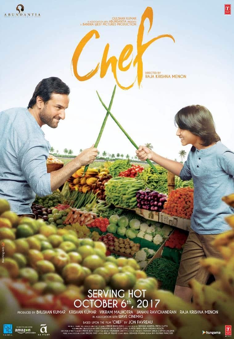 saif ali khan, chef poster