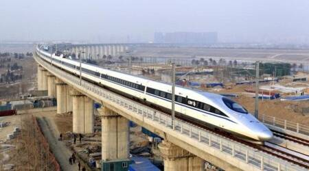 China runs word's fastest commercial bullet train at 350 kmph