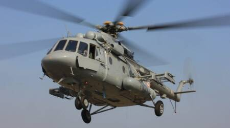 Army helicopter crashes in Eastern Ladakh, all onboard safe