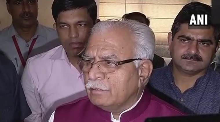 Mohan Lal Khattar, Khattar GST, GST, Goods and Services Tax, GST Haryana, Consumer complaints, steering commitee GST, India News , Indian Express