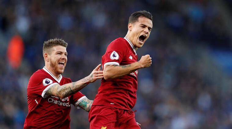 Image result for coutinho vs leicester