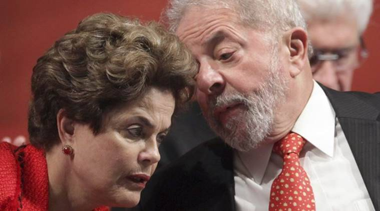 Brazil's Former President Luiz Inacio, Dilma Rousseff, Petrobras graft, Petrobras graft case, World News, Latest World News, Indian Express, Indian Express News