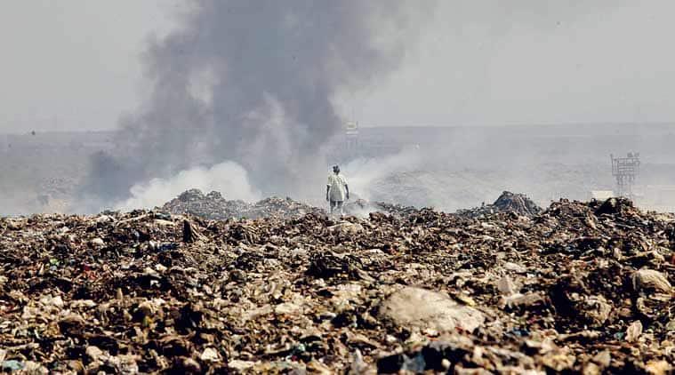 NDRF, National Disaster Response Force, Deonar dump, Mumbai, BMC, Mumbai Civic Body, India News, Indian Express, Indian Express News