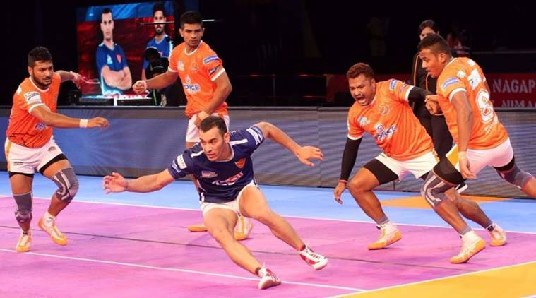 Image result for Pro Kabaddi Season 5: Puneri Paltan beat Dabang Delhi by 34-29