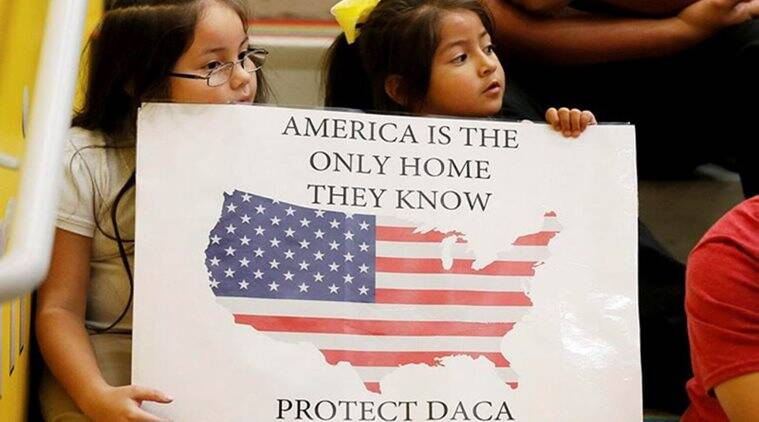 daca, dreamers programme, us federal agency, children of immigrants, indian express