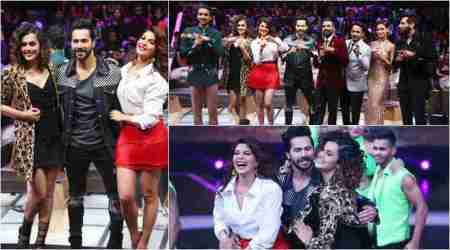 Dance Plus 3 finale: Varun, Taapsee and Jacqueline bring Judwaa 2 fun on Remo D'Souza show