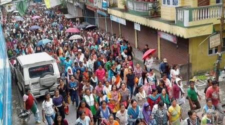 NCW chief Rekha Sharma in Darjeeling: 'Govt not allowing victims of 2017 violence to meet me'