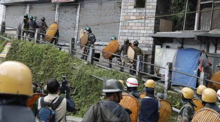 Gorkha Janmukti Morcha activists clash with police in Darjeeling, 12 supporters arrested