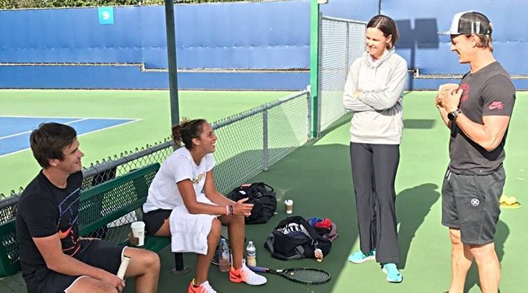Lindsay Davenport, female coaches, Arthur Ashe Stadium, us open, grand slam, tennis, sports news, indian express