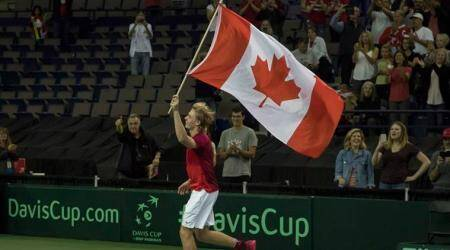 Denis Shapovalov the menacing act for India in Davis Cup