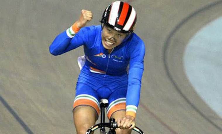 Deborah Herold, Aleena Reji, UCI Track World Cup, Track Cyling World Cup, Sports news, indian Express