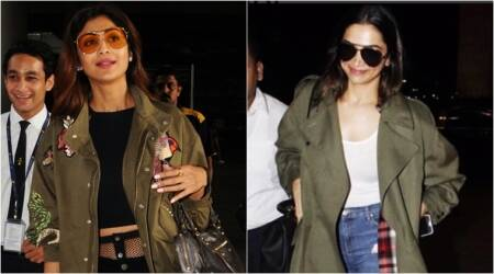 Deepika Padukone or Shilpa Shetty: Whose 'jacket and ripped jeans' airport look would you go for?