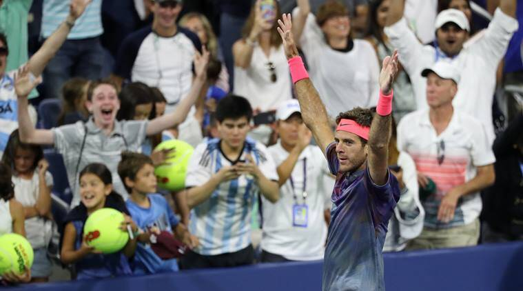 US Open 2017, US Open, juan martin del potro, roger federer, dominic thiem, tennis news, sports news, indian express
