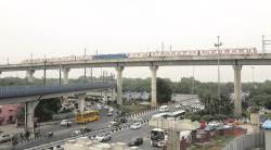 delhi metro, dmrc, delhi metro pink line, delhi metro latest news, indian express