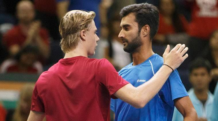 Davis Cup, India vs Canada, Denis Shapovalov, Yuki Bhambri, Ramkumar Ramanathan, World Ground play-off tie, Tennis news, Tennis, Indian Express