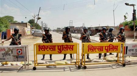 dera sacha sauda, gurmeet ram rahim singh, sirsa, haryana, dera sacha sauda search operation, dera HQ, dera headquarter search, dera raid, india news, indian expres news