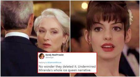This 'The Devil Wears Prada' deleted scene brings DRAMATIC change to the plot, and Twitterati can't digestit