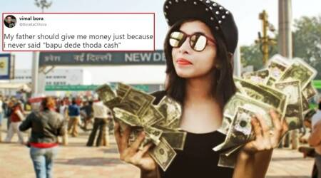Dhinchak Pooja's 'Baapu Dede Thoda Cash' has some Twitter users squirming, while others cannot get it out of their heads