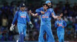 MS Dhoni, Yuzvendra Chahal, Virat Kohli, India vs Australia, Australia tour of India 2017, sports news, cricket, Indian Express