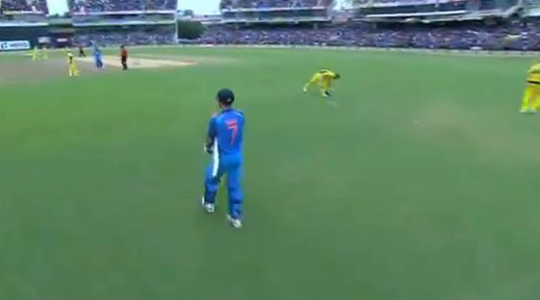 MS Dhoni, Dhoni, Mahendra Singh Dhoni, Dhoni at Chepauk, India vs Australia, Ind vs Aus, Australia tour of India 2017, Cricket news, indian Express