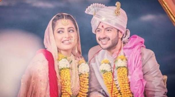 Dhruv Bhandari, Shruti Merchant, tv wedding, tv celebs wedding, tv celebs wedding photos,