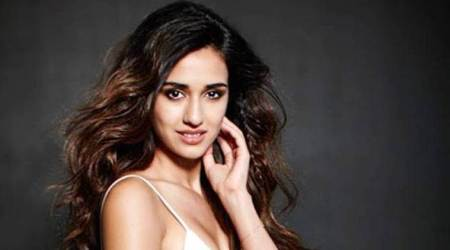 Disha Patani is looking like a cerulean goddess in her latest picture