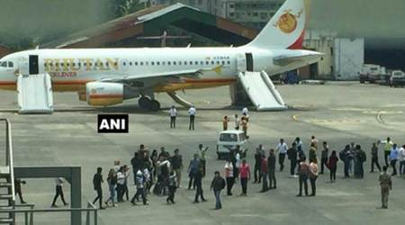 Smoke in Drukair plane, passengers evacuated at Kolkata airport